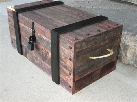 Diy Pirate Chest Plans