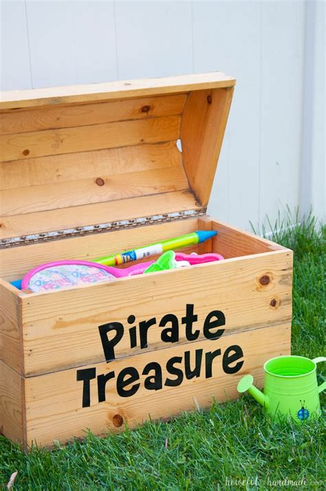 Diy Pirate Chest Toy Box