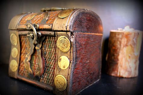 Diy Pirate Treasure Box