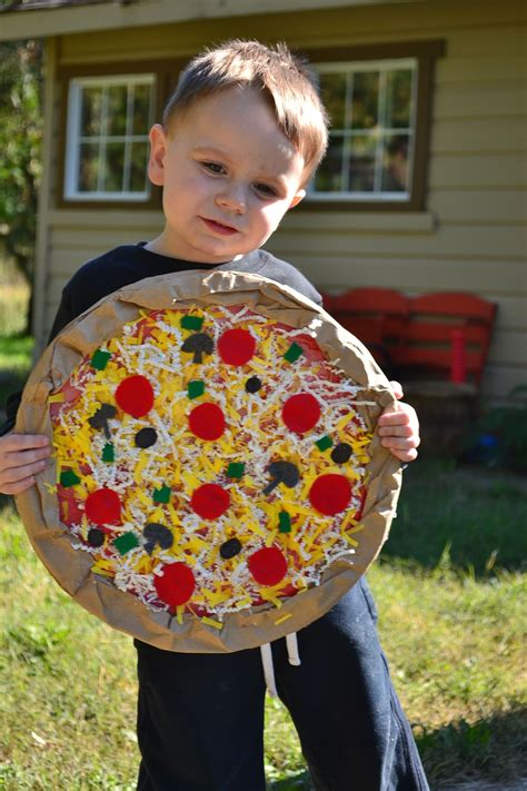Diy Pizza Costume