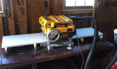Diy Planer Outfeed Tables