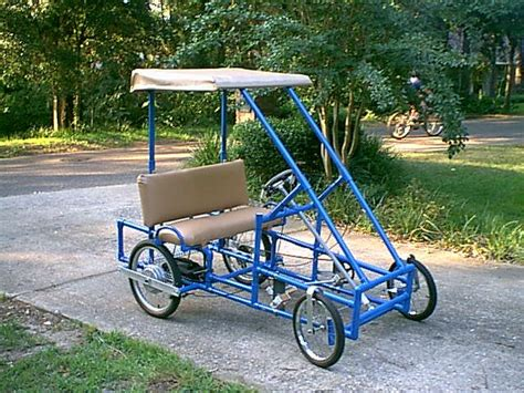 Diy Plans For 4 Seater Peddle Cart