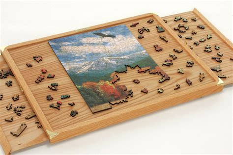 Diy Plans For A Puzzle Table