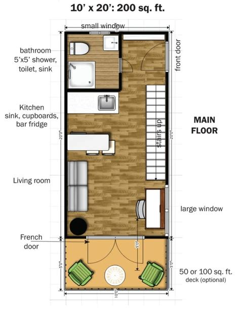 Diy Plans For A Tiny House 350 Square Feet
