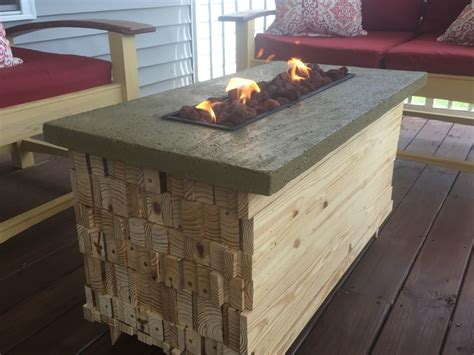 Diy Plans For Fire Water Table