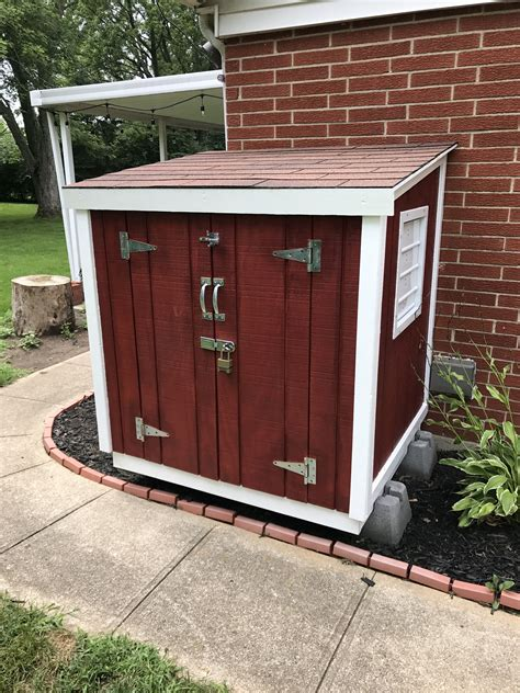 Diy Plans For Outdoor Generator Storage Shed