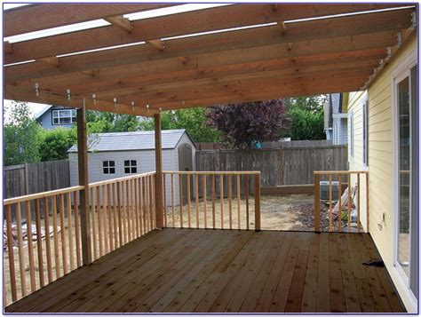 Diy Plans For Roof Over Patio