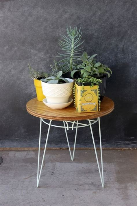Diy Plant Stand End Table