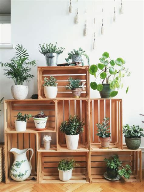 Diy Plant Stand From Refurbished