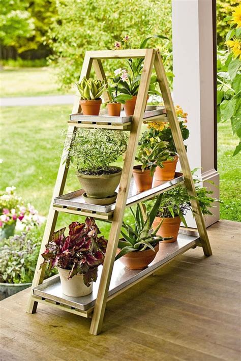 Diy Plant Stand Ideas Outside