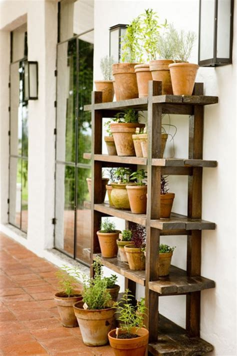 Diy Plant Stand With Wire Shelving