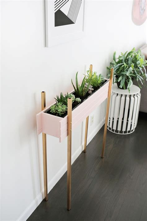 Diy Planter Box Stands