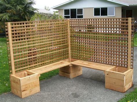 Diy Planter Box Trellis Privacy Fence