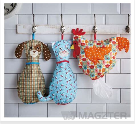 Diy Plastic Bag Holder Pattern