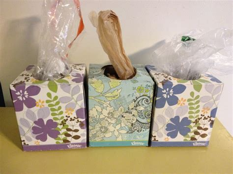 Diy Plastic Bag Holder Tissue Box