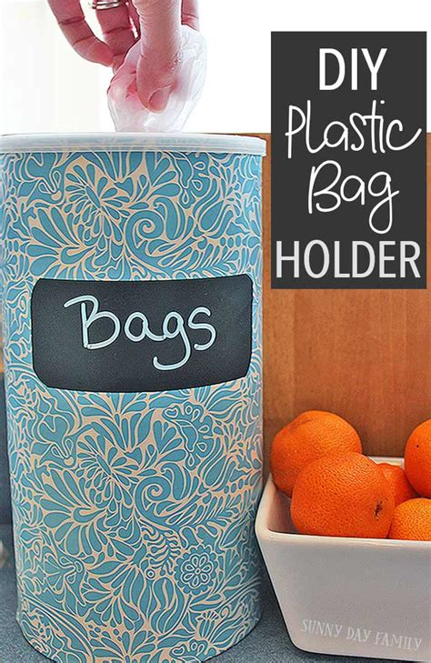 Diy Plastic Bag Holder Video