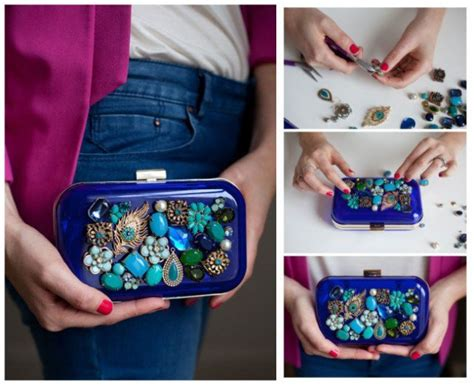 Diy Plastic Box Clutch Bags