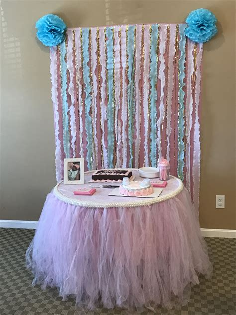 Diy Plastic Tablecloth Backdrop
