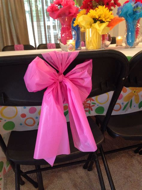 Diy Plastic Tablecloth Chair Cover