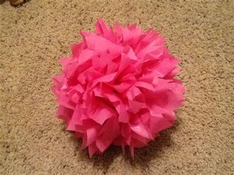 Diy Plastic Tablecloth Flowers