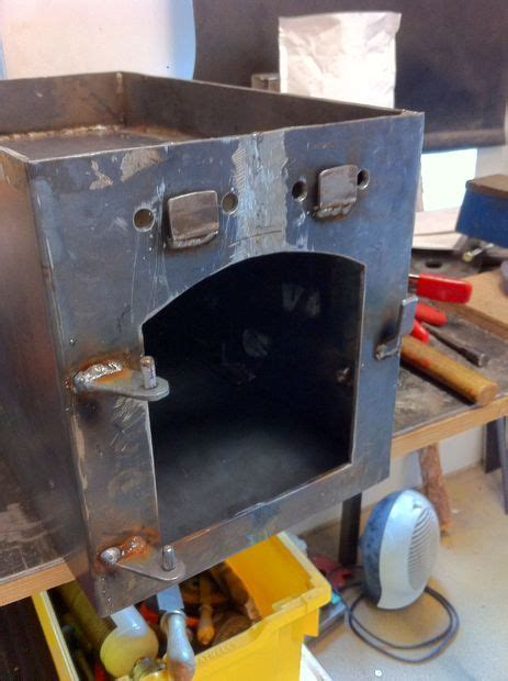Diy Plate Steel Wood Stove