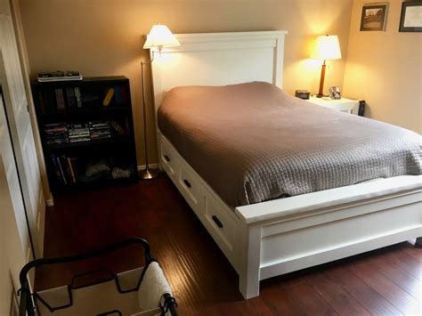 Diy Platform Bed Plans Ana White Diy