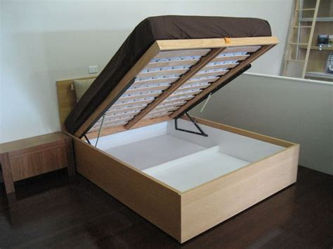 Diy Platform Bed With Lift Up Storage