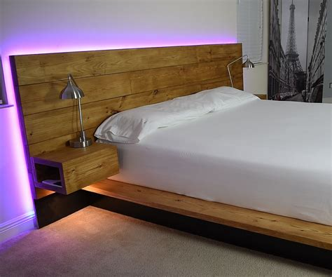 Diy Platform Bed With Storage And Steps