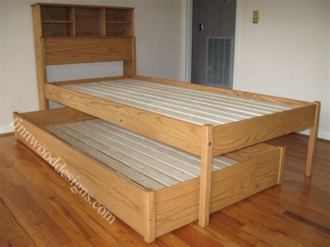 Diy Platform Bed With Trundle