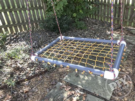 Diy Platform Swing With Net