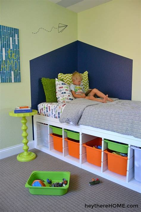 Diy Platform Twin Bed With Storage