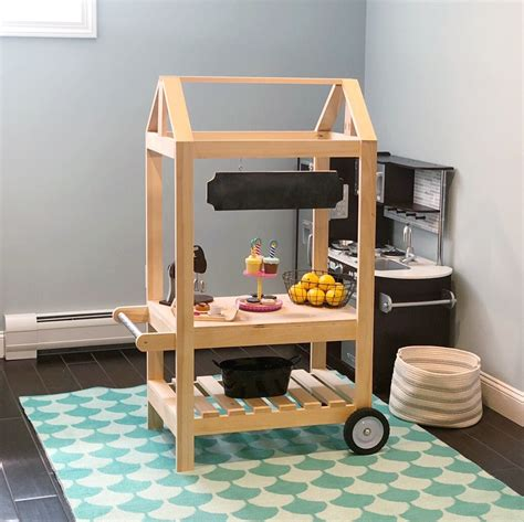 Diy Play Food Cart