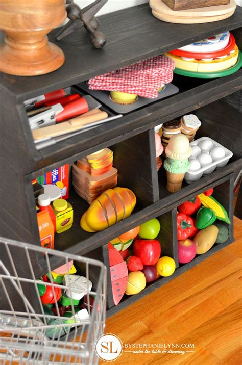 Diy Play Food Storage
