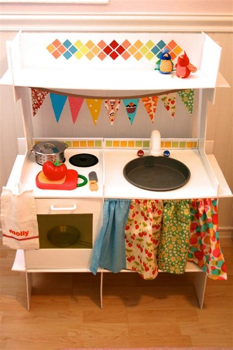 Diy Play Kitchen Cardboard