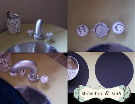 Diy Play Kitchen Faucet Ideas