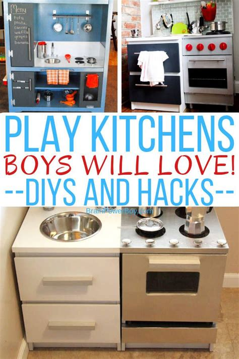 Diy Play Kitchen For Boy