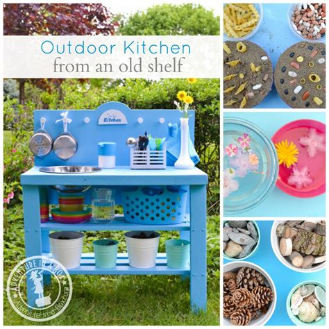 Diy Play Kitchen Out Of Bookcase