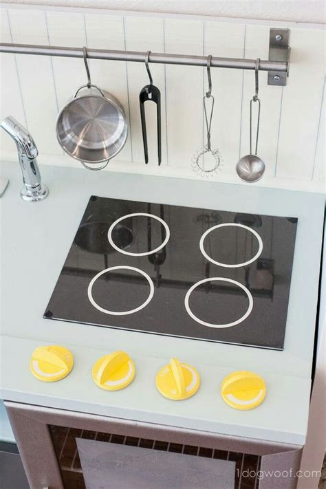 Diy Play Kitchen Stove Burners