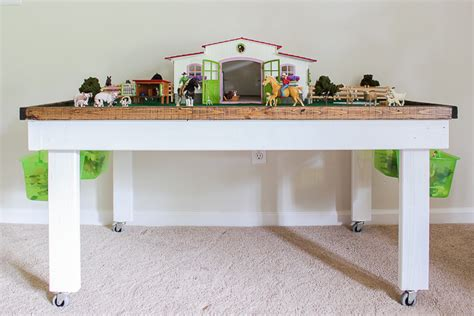 Diy Play Table With Storage