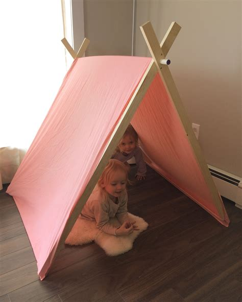 Diy Play Tent With Pvc