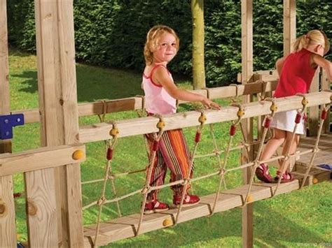Diy Playground Bridge