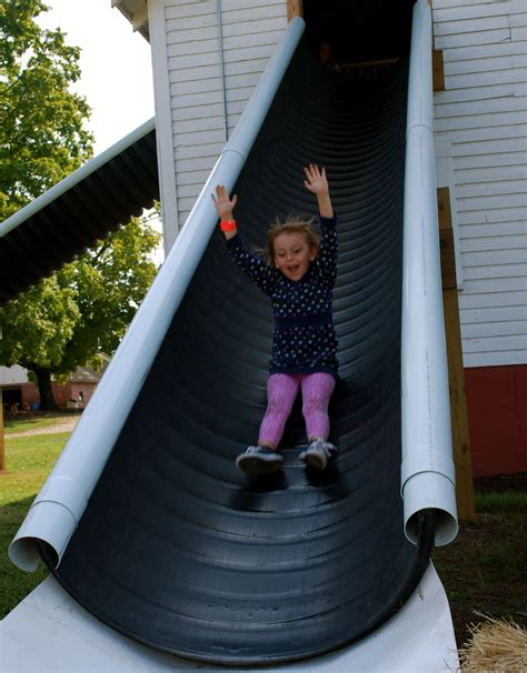 Diy Playground Slide