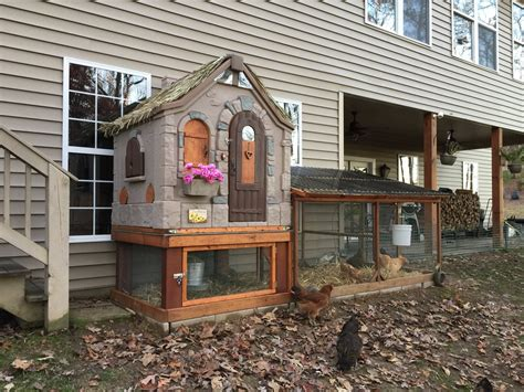 Diy Playhouse Chicken Coop