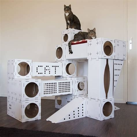 Diy Playhouse For Cats