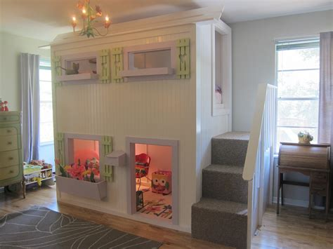 Diy Playhouse Loft Bed Pottery Barn