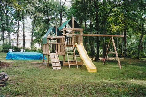 Diy Playset Fort Plans