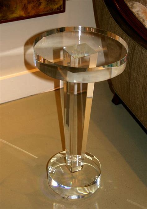 Diy Plexiglass Side Table