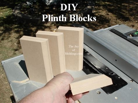 Diy Plinth Blocks