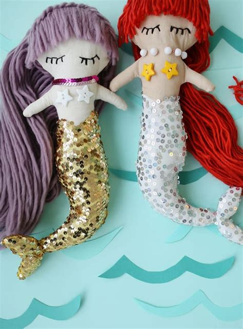 Diy Plush Mermaid Doll