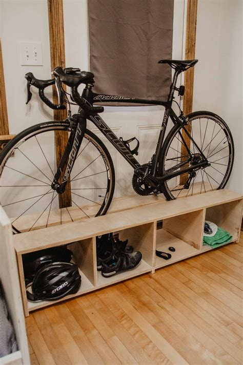 Diy Plywood A Frame Bike Rack